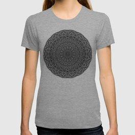 Zen Black and white Mandala T-shirt