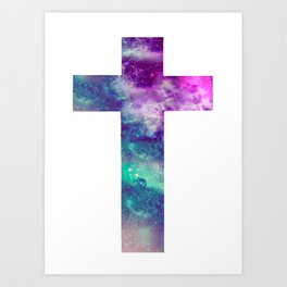 CROSS --Art Art Print