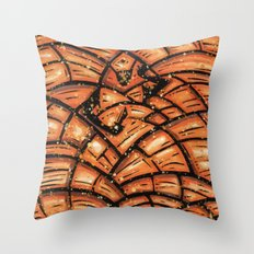 Orixás - Obá Throw Pillow
