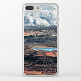Canyon Utah Clear iPhone Case