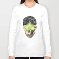 video games Long Sleeve T-shirts featuring Triangles Video Games Heroes - Sam Fisher by s2lart
