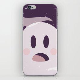 Pink Surpried Ghost iPhone Skin