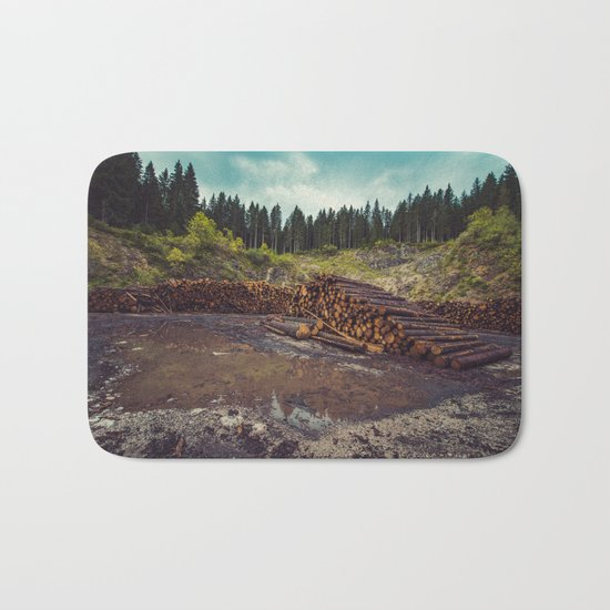 Logs Bath Mat