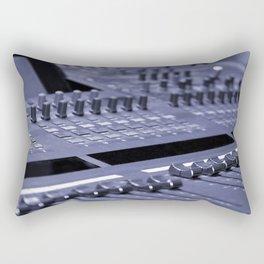 Mixing Console Rectangular Pillow
