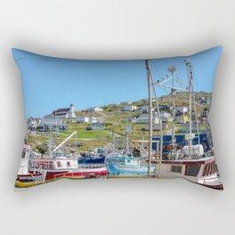 top of the hill Rectangular Pillow