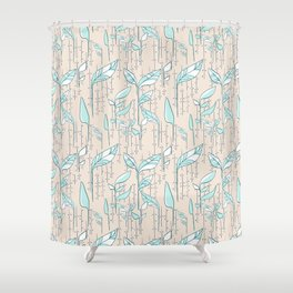 Leafy Green Shower Curtain