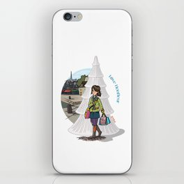 Love Honfleur iPhone Skin