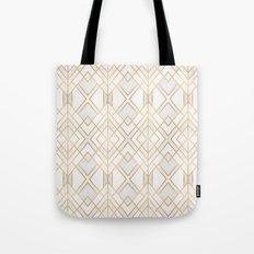 Golden Geo Tote Bag