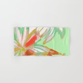 Tropical Reflections Floral Hand & Bath Towel