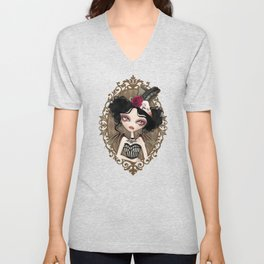 Countess Nocturne Vampire Unisex V-Neck