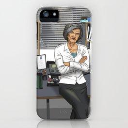 Inspector Mackenzie iPhone Case