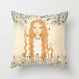 Queen Jodha Throw Pillow