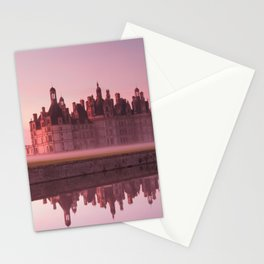 Chateau Chambord at dawn Stationery Cards