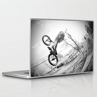 bikes Laptop & iPad Skins featuring bikes  by KayleeRae