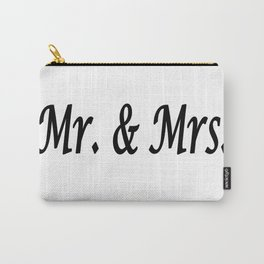 Mr. & Mrs. Carry-All Pouch