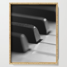 Piano keys Serving Tray