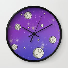 OuterSpace Wall Clock