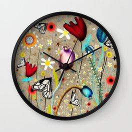 Rupydetequila - Bohemian Paradise Wall Clock