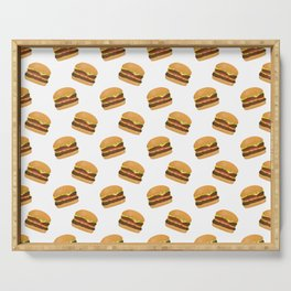 Burgers Serving Tray