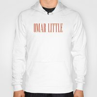 scarface Hoodies featuring Omar Little [Scarface] The Wire by D-fens