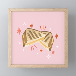 Grilled Cheese Framed Mini Art Print