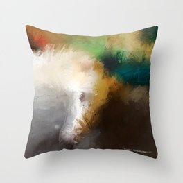 Sasa and Tatyana Throw Pillow