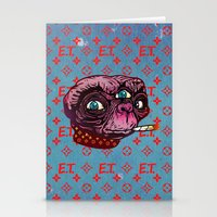 et Stationery Cards featuring ET Mofo by Beery Method