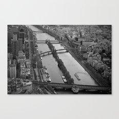 bridges to cross.. Canvas Print