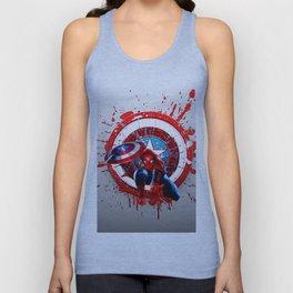 Civil War of Spider Captain Unisex Tank Top
