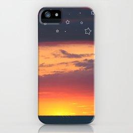 Florida Sunset - Stars iPhone Case