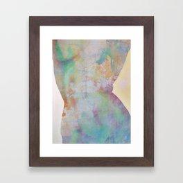 Cuerpo Framed Art Print