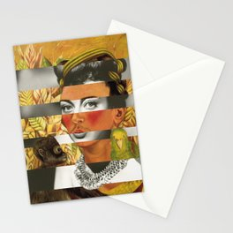 Frida Kahlo's Self Portrait with Parrot & Joan Crawford Stationery Cards