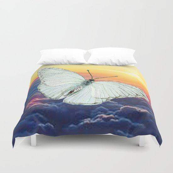 Angel Butterfly Duvet Cover