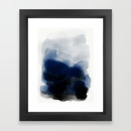 Boundary Framed Art Print