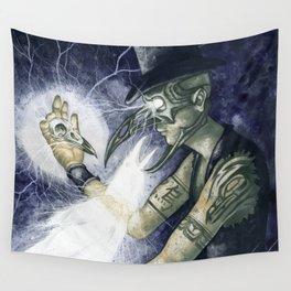Shadow Man 3 Wall Tapestry