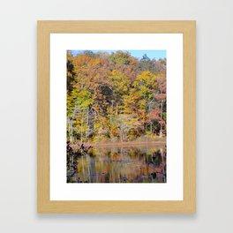 Tree Pastel Framed Art Print
