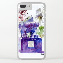 20141206 Bird@UOBPlaza Clear iPhone Case