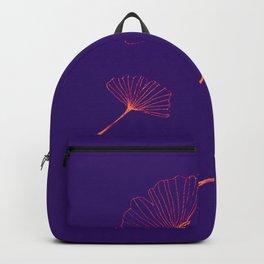 ginko biloba leaves Backpack