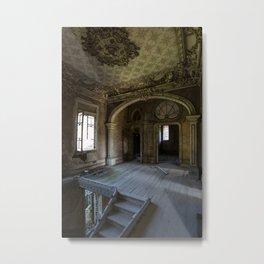 Abandoned Manor Metal Print