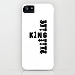 King - Chess Gift iPhone Case