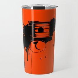 Grunge Gun Travel Mug