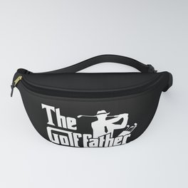 The Golf Father - Funny Golfer print Gift for Dad Fanny Pack