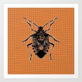 Bugged. Art Print
