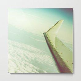 Airplane Travel Adventure Metal Print