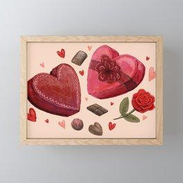 Valentine's Day Framed Mini Art Print