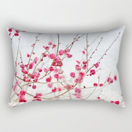 Beautiful Cherry Blossoms at the Imperial Palace in Kyoto, Japan Rectangular Pillow
