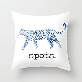 Spots Throw Pillow