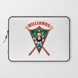 Billiard | Sports Gift Idea Laptop Sleeve
