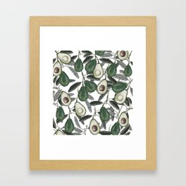 Ripe Avocado Framed Art Print
