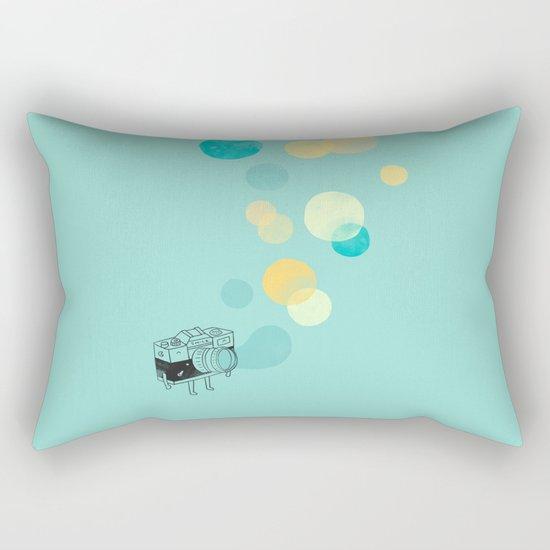 Memories like bubbles Rectangular Pillow